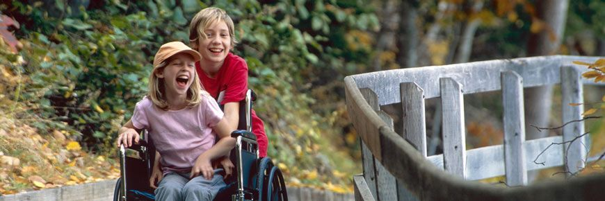 Accessibility Trail. Credit: Parks Canada